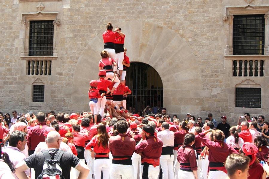 Atrakcja na wyjazd integracyjny w Barcelonie.
