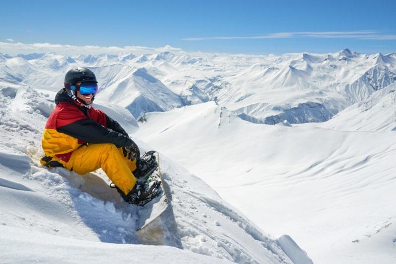 Integracyjny wyjazd na narty do Gruzji.