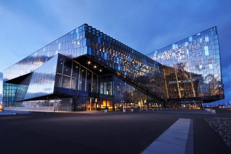 Miejsce na konferencję podczas wyjazdu firmowego w Islandii.