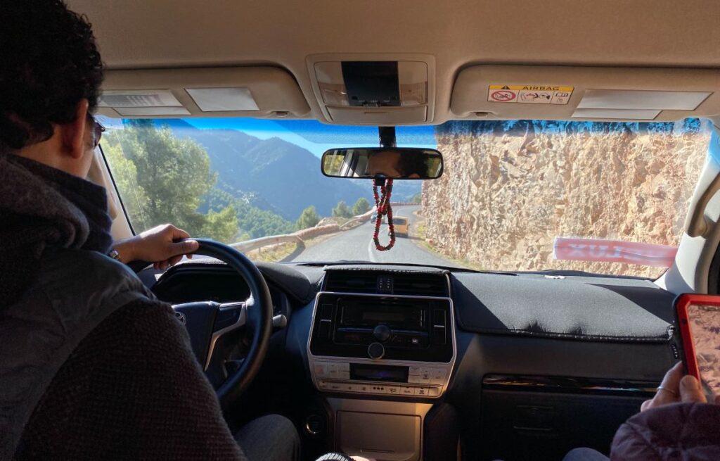 off road podczas wyjazdu firmowego w Maroko